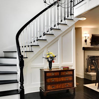 Staircase Black Floor Design, Pictures, Remodel, Decor and Ideas
