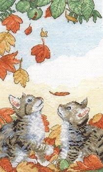 Gallery.ru / Фото #4 - Cross stitch cat. Pattern found on gallery.ru