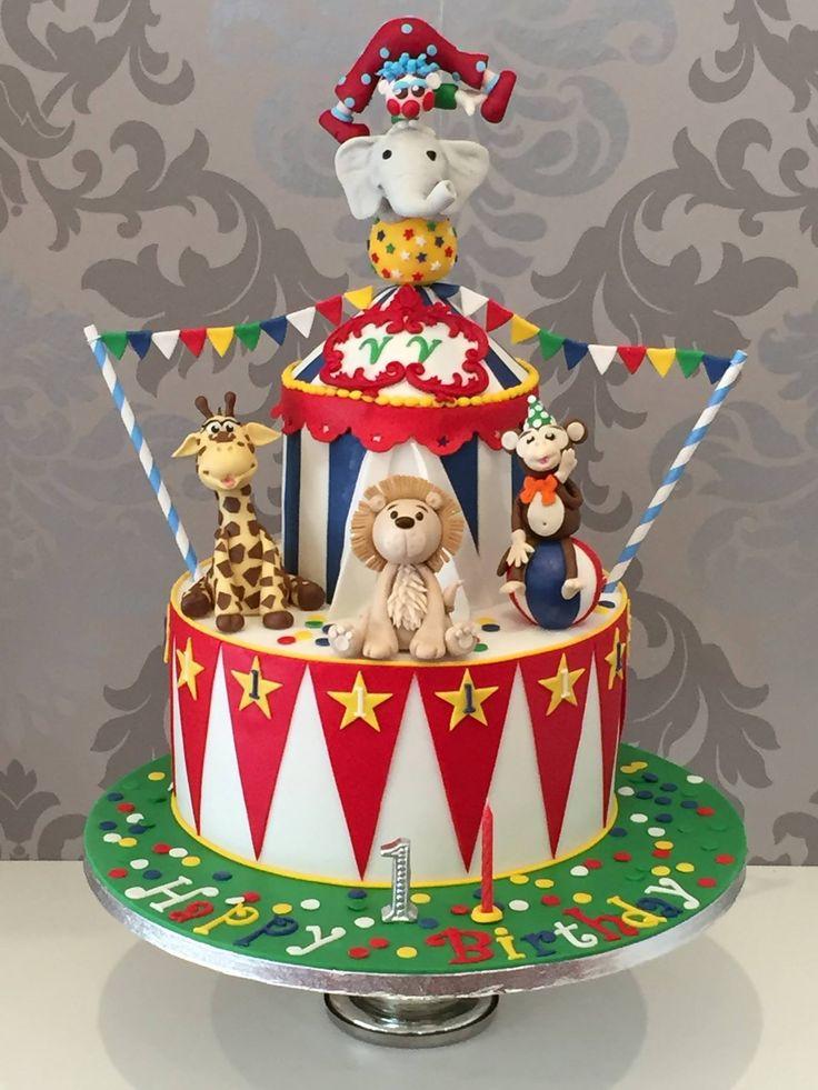 Manege frei für die sensationelle Welt des Zirkus! Happy Birthday