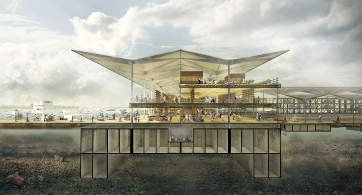 """Galeria - """"Salada de Frutas"""", a dissolução entre infraestrutura, arquitetura e território urbano - 2"""