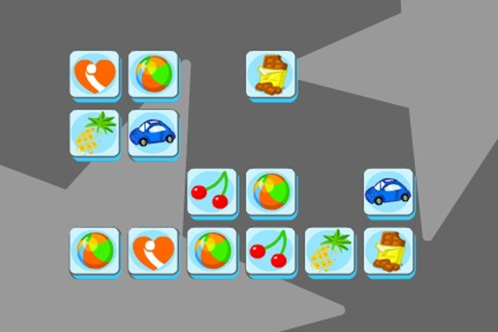 Connect It Icons game: A cute puzzle game where you have to connect the same icons. They need to be next to eachother...