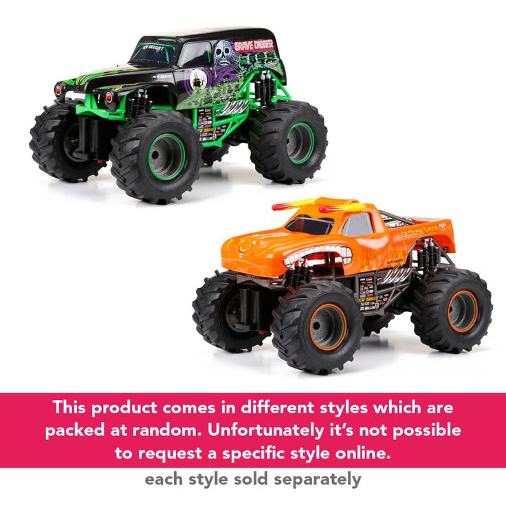 New Bright 1:15 Remote Control Monster Jam- Assorted   Toys R Us Australia
