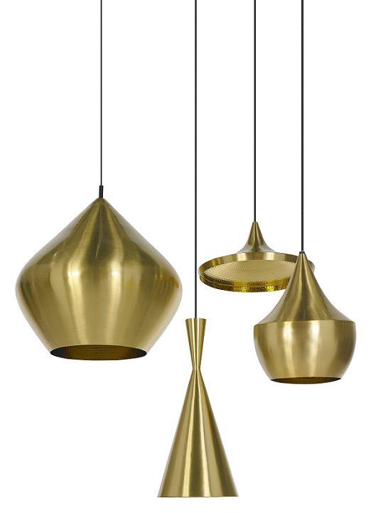 Beat light brass, Tom Dixon. Nordic Leaves