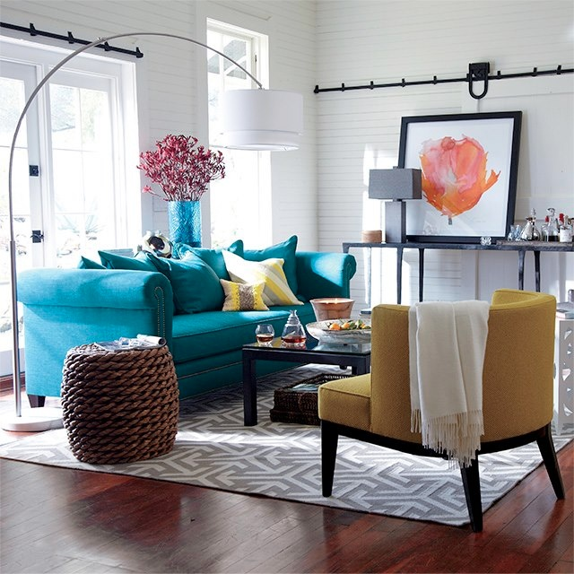 Bright Room Colors: Bright Living Room
