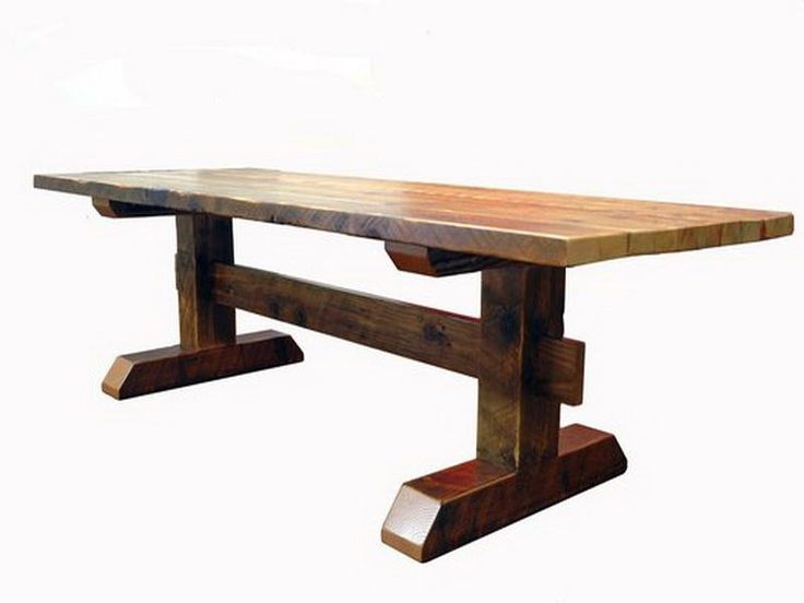 Antique Reclaimed Trestle Dining Table Woodwork Timber Table Trestle Dining Tables Trestle