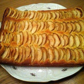 Appel plaatcake