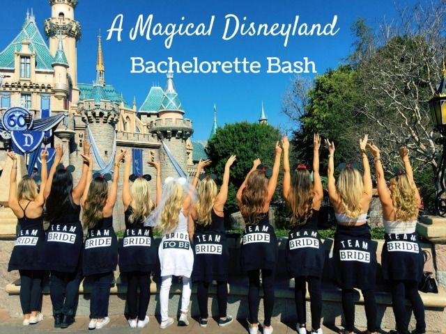 Mallory's Disneyland Bachelorette Party