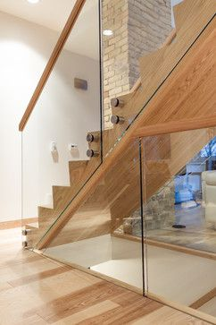 I don't think it would work in our place, but an interesting idea to let more light into staircases going up and down!
