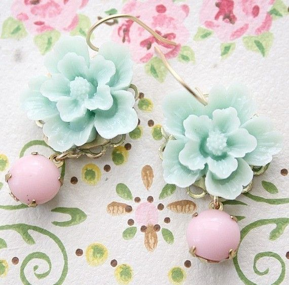 Hey, I found this really awesome Etsy listing at http://www.etsy.com/listing/59416451/sea-foam-flower-dangle-earrings