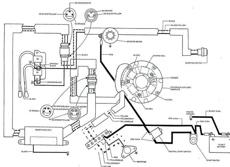 mercury outboard rectifier wiring diagram in 2020