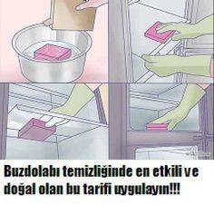 Buzdolabı temizliğinde et etkili doğal tarif