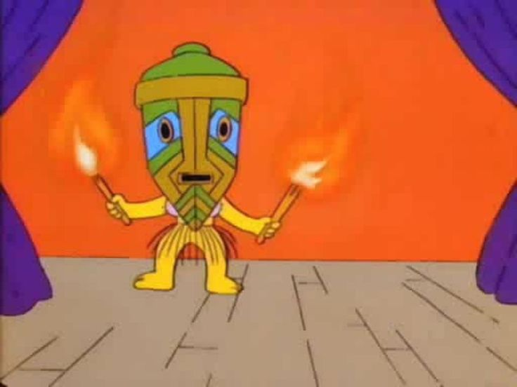 I just started yesterday watching for the first time the first season of Simpsons, I watch the show since I was a child but I guess I started on season 10 or something. Lisa is still one of my fav characters! But the dance was too sexy ahaha