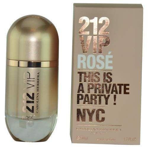 212 Vip Rose By Carolina Herrera Eau De Parfum Spray 1.7 Oz