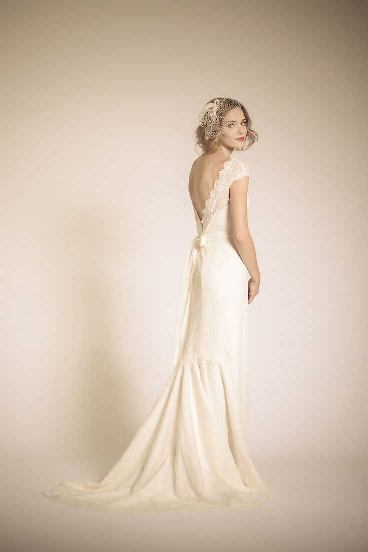 Amy Kuschel Bride San Francisco: Coretta Gown. Layers of Lace, grace and charm, layered in personality.