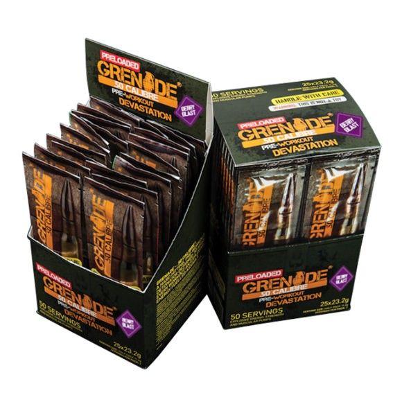 Grenade 50 Calibre Preloaded 25 Sticks