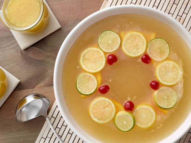 Southern Comfort Punch recipe from Paula Deen via Food Network