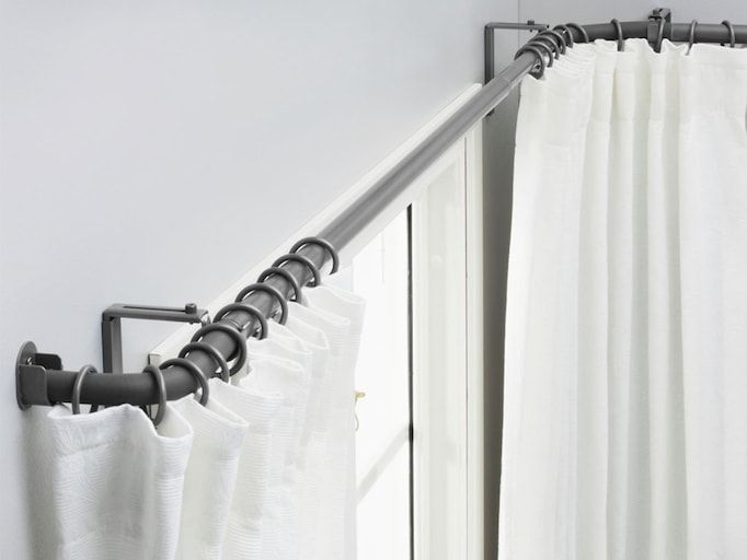 Curtain Rod Selection Curtains With Blinds Curtains Blinds