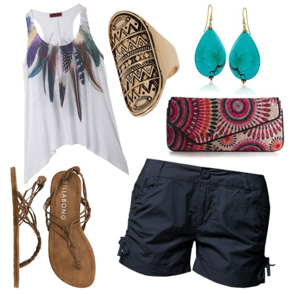 Casual Summer Outfit: Shoes, Clothing Ideas, Summer Outfits 3, Shirts, Casual Summer Outfits, Clothing Style Accessories, Rings, Bohemian Style, Bags