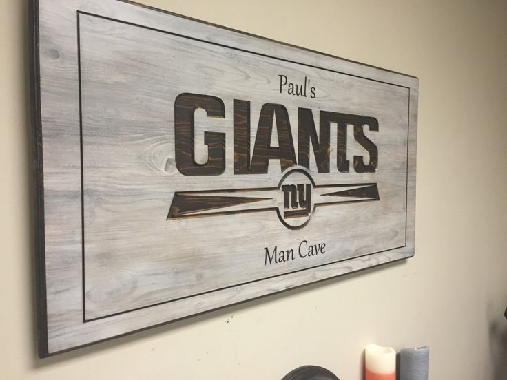 Man Cave Wall Decor 17 best sports decor, man cave, custom team name, personalized