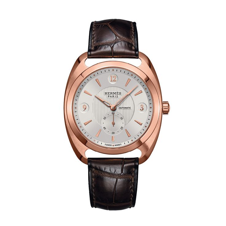 Hermes Dressage Petite Seconde Rose Gold Watch