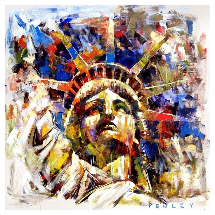 Steve Penley | Liberty 2, also giclee Liberty 1 is beautiful