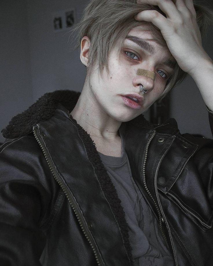 "12.7k Likes, 124 Comments - i n u (@akvinv) on Instagram: ""trying something more boyish this time //#tomboy #mua #crossplay #cosplayer #septum #aesthetic…"""