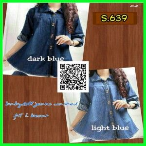 babydoll jeans washed s639