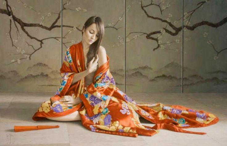 Cuadros Modernos: Mujeres pintadas al óleo por Sergio Martínez Cifuentes
