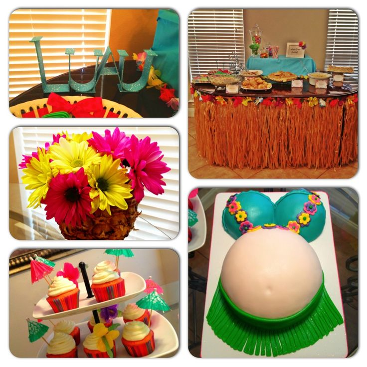 baby shower on pinterest luau party hawaiian baby showers and