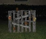halloween signs fun one to do with an old pallet - Halloween Prop Ideas
