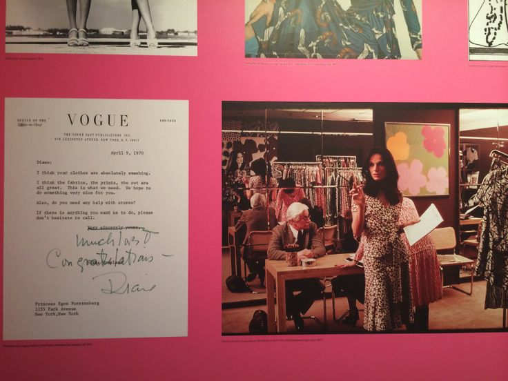 Letters and photos #DVF #JourneyofaDress