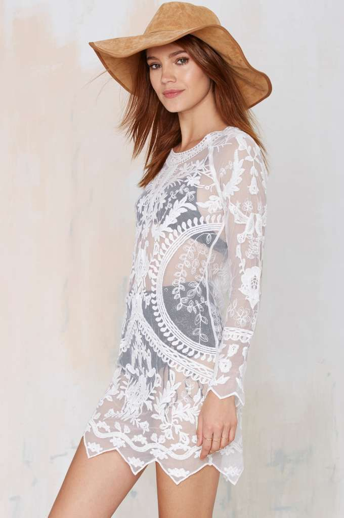 Call Out Lace Dress