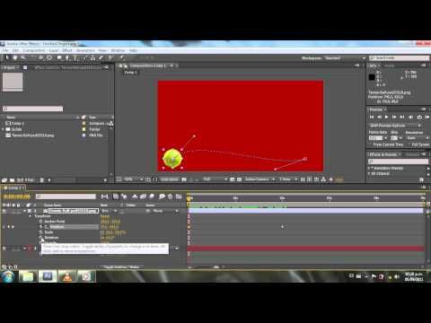 ▶ After Effects Basico - Crear fotogramas claves - Tutorial - YouTube