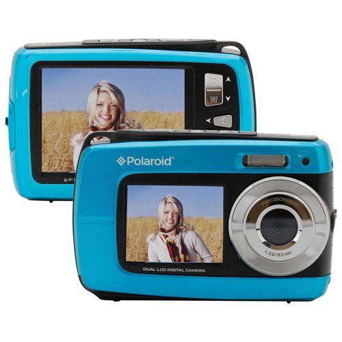 Appareil photo numérique étanche/antichoc jS085 de 16 Mpx avec zoom 5x de Polaroid - Bleu. 89.99$