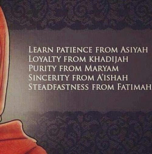 Great women in Islam