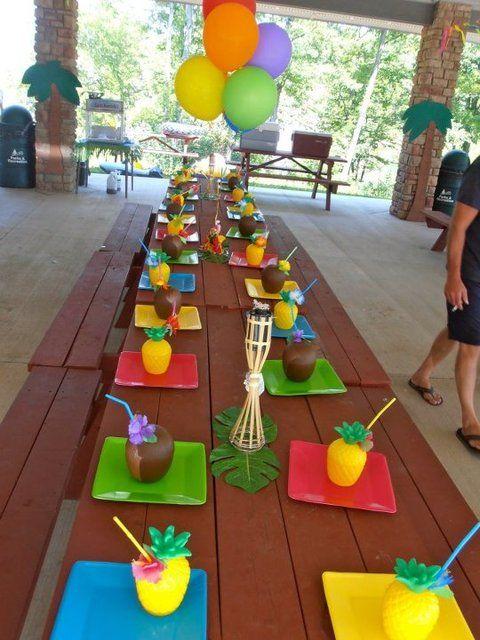 Ideas para fiestas hawaianas o cumpleaños en verano!