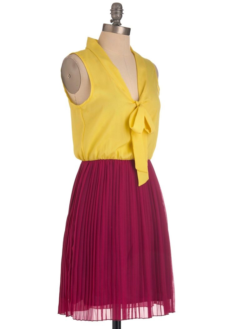 Pleats Excuse Me Dress | Mod Retro Vintage Dresses | ModCloth.com