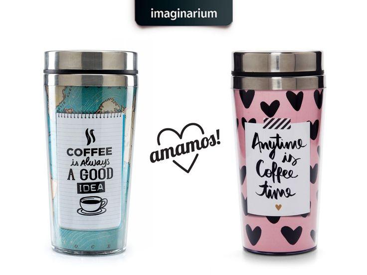 Hoje, no dia do café, conte com os produtos criativos certos pra fazer, levar e tomar essas doses de amor o dia inteiro.  Espia que tem mais lá no blog: http://goo.gl/0O7N0d