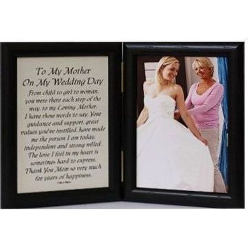 To My Mother Photo Frame | Wedding Gifts | Mother Of The Bride Gift Ideas
