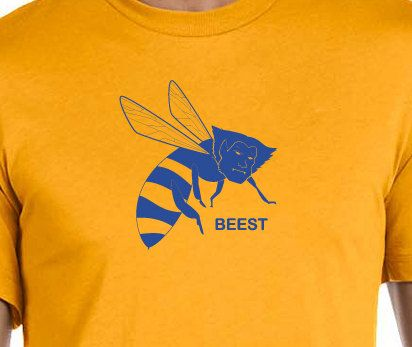 Beest (Beast) Vintage Soft Tshirt Unisex Adult Reserve by by HeyThatsSuper, $18.00  Oh my star and garters! Beest *(of X-Men's Beast) was voted the first victor in our X-Wars on Facebook and Twitter, and now he can BEE all yours.