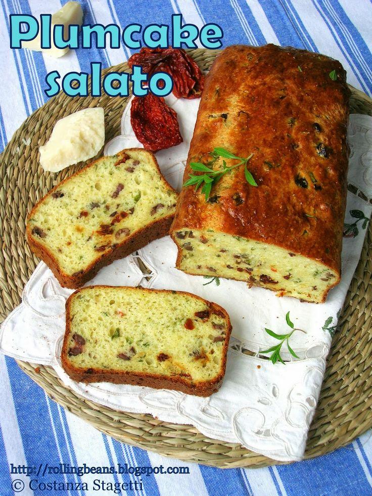 Plumcake salato al latticello   buttermilk plumcake with cheese and herbs #ricette #plumcake