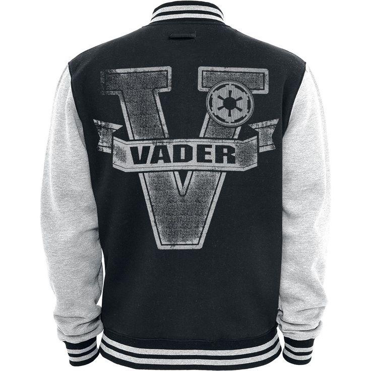 La Guerra de las Galaxias Chaqueta Universitaria »Vader Logo« | Cómpralos en EMP | Más Fan merch Chaquetas estilo Universitario disponibles online ✓ ¡Precios inigualables!