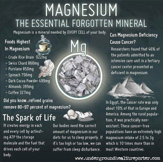 "Other natural sources of magnesium are nuts, legumes, seafood, whole grains, apples, bananas, peaches, and apricots. ""Like"" if you find this information useful. And don't forget to ""share""."