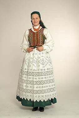 Strój Regionalny (kobieta) - swietokrzyski