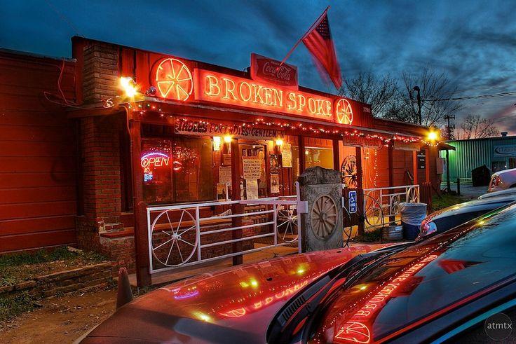 Austin, TX: The Broken Spoke on S. Lamar Blvd. Honky Tonk! @ Jessi I'm totally going to visit u someday!!!!