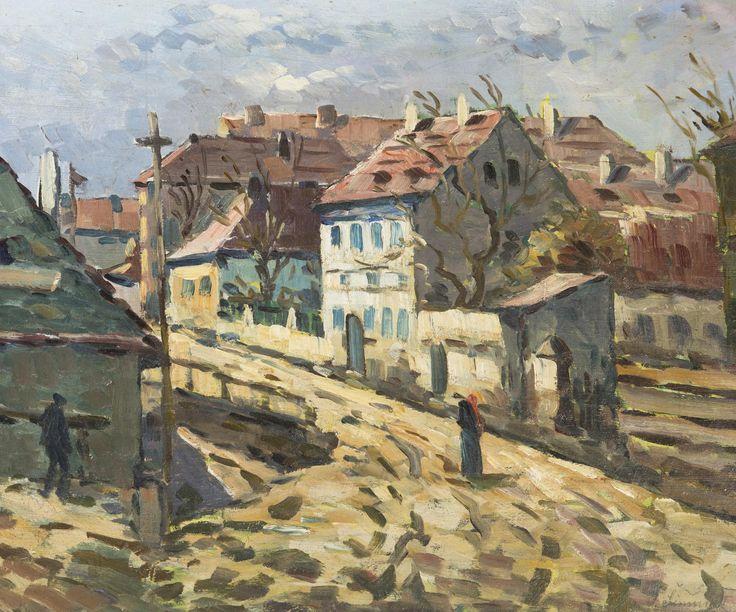 Jaroslav Šimůnek - Motiv ze starých Vršovic