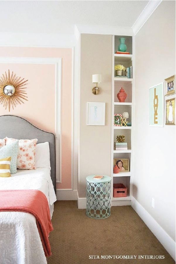 Best 25 coral walls bedroom ideas on pinterest tween for Little girl room color ideas