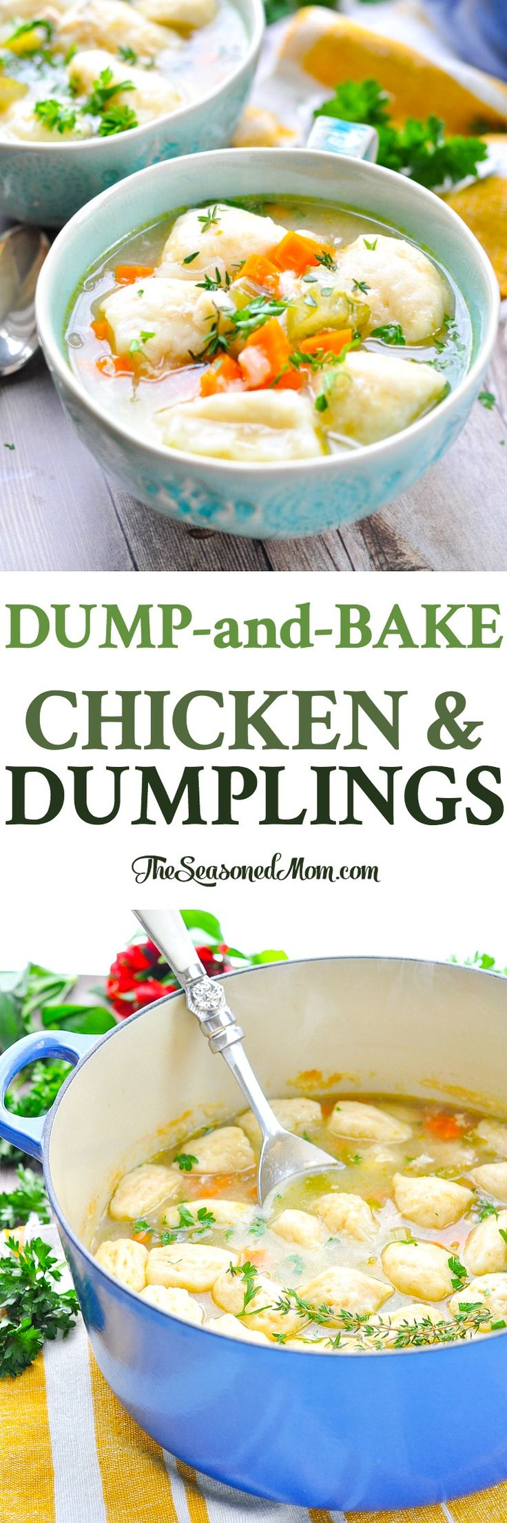 How to quickly cook an appetizing soup with dumplings