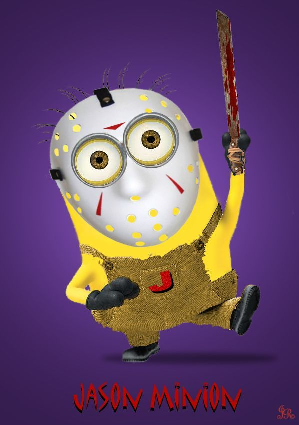 Happy Friday the 13th Minion style!