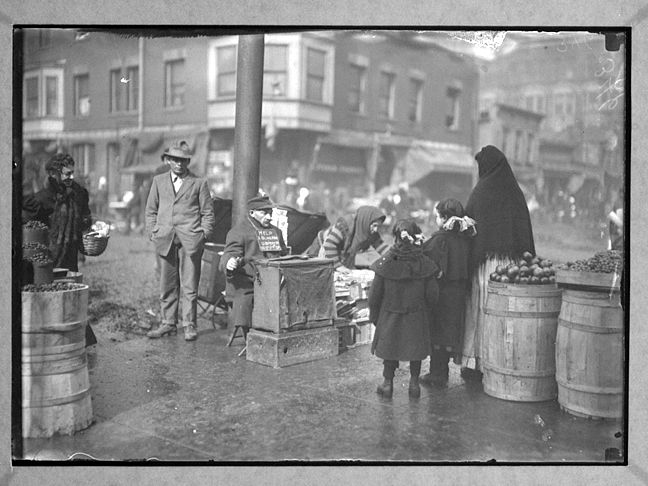 Lewis Hine - A Blind Beggar in Italian Market District - 1911.  © George Eastman House. page 14 from 'The Ongoing Moment'.